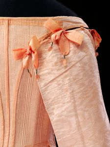 Seventeenth century watered silk (tabby)  © V&A